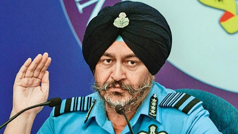 IAF Chief press meet tweets