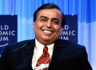 Richest Indian Mukesh Ambani