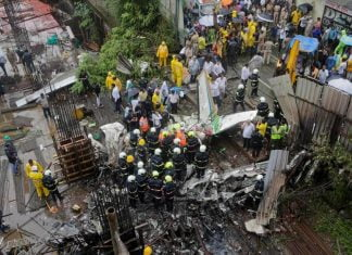 Mumbai Plane Crash Pilot