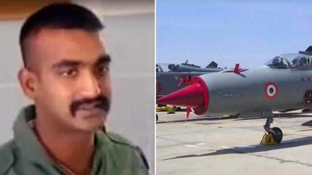 Captive Indian pilot