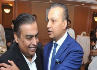 Anil Ambani paid Ericsson dues with the help of Mukesh Ambani
