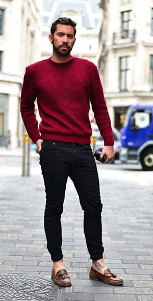 Some Totally Snazzy Jeans and Sweater Combinations for Winter That ...