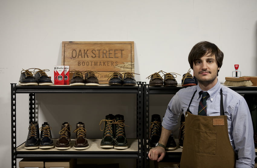 2f789ba0f5b George Vlagos  From A Cobbler s Son To the Founder Of Oak Street Bootmakers!
