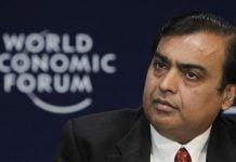 Richest Indian Mukesh Ambani