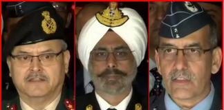 Indian Chief Army Officers